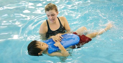 Swim Lesson Instruction at Lakeshore Sport & FItness