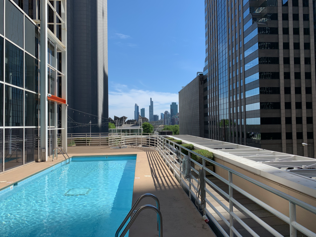 LSF Illinois Center Rooftop Pool