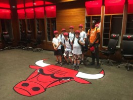 Camp 48 Field Trip Chicago Bulls