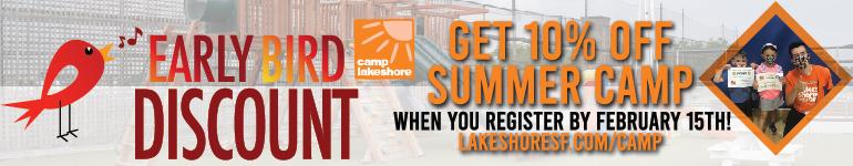 2021 Summer Camp Early Bird Discount