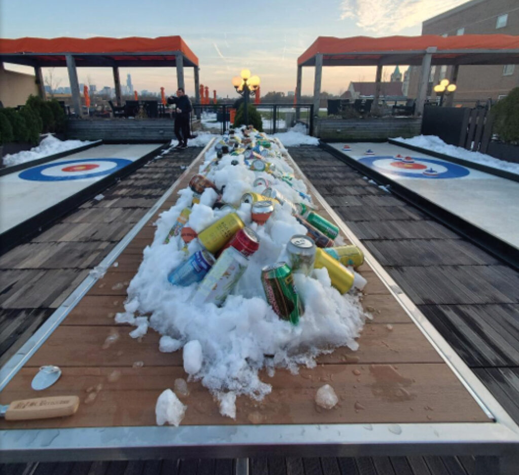 LSF Rooftop Curling