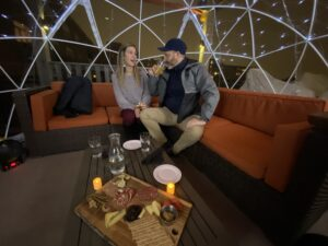 LSF Harvest Rooftop Dining Domes