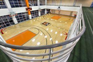Indoor Basketball Court Downtown Chicago Indoor Running Track