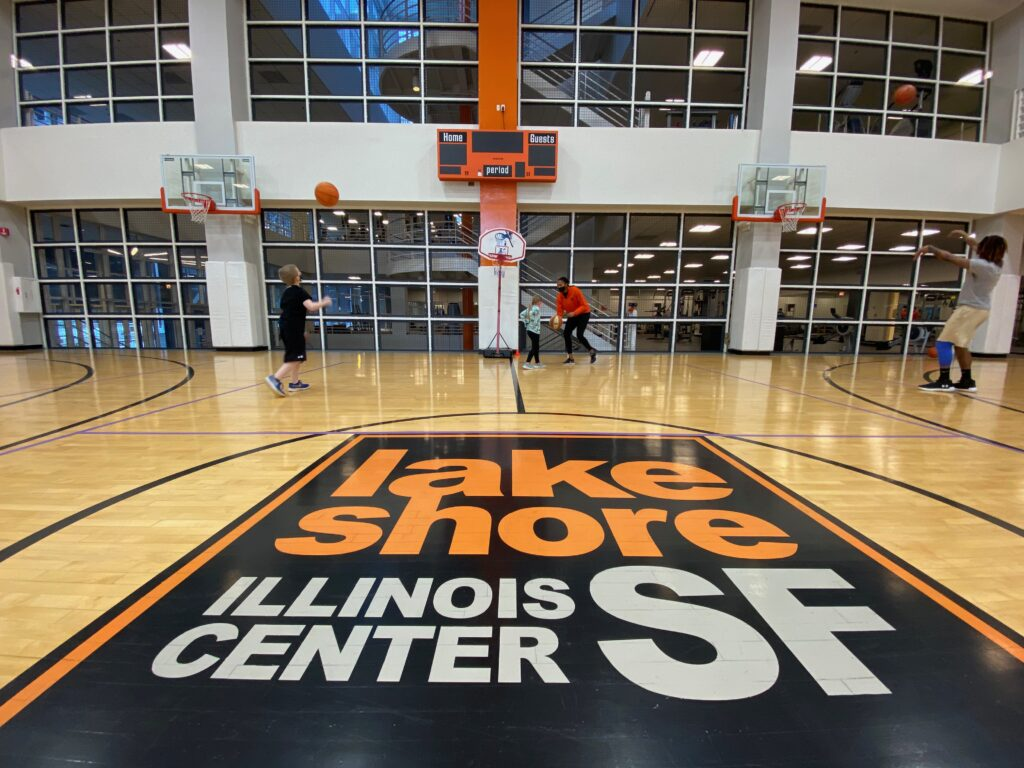 LSF Illinois Center Kids Basketball