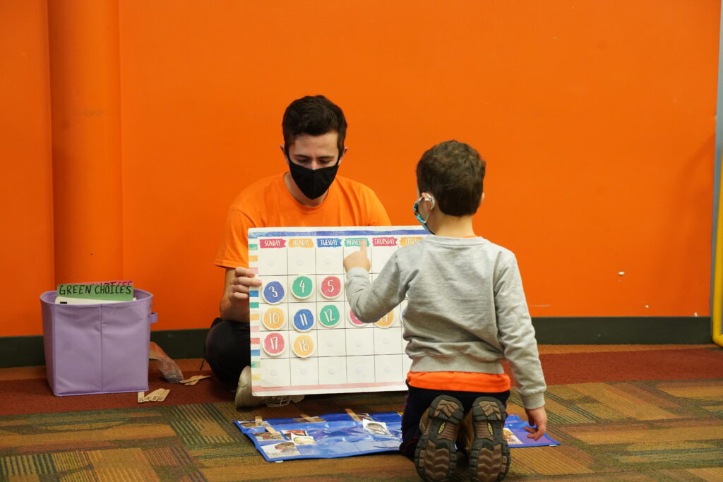 PeeWee Preschool Lincoln Park - Learning Activity