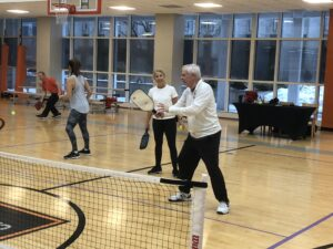 Pickleball at LSF Illinois Center Downtown Chicago Location
