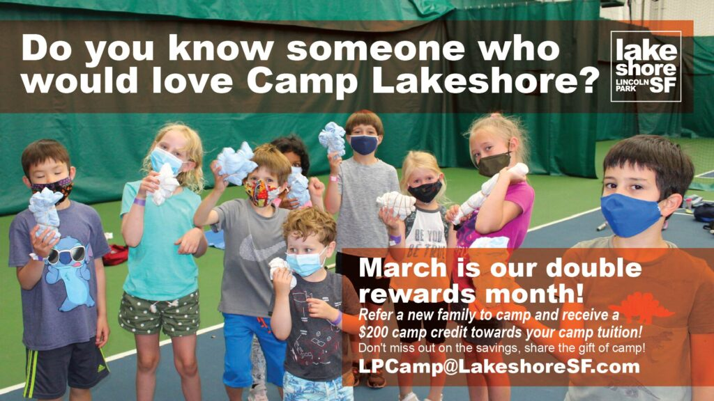 March Double Referral Rewards for Summer Camp Promo
