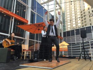 Illinois Center Rooftop Event