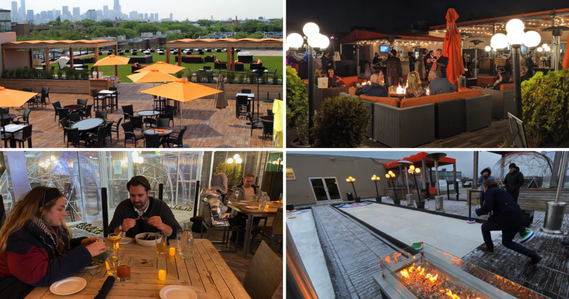 Rooftop Restaurants and Bars in Lincoln Park Chicago